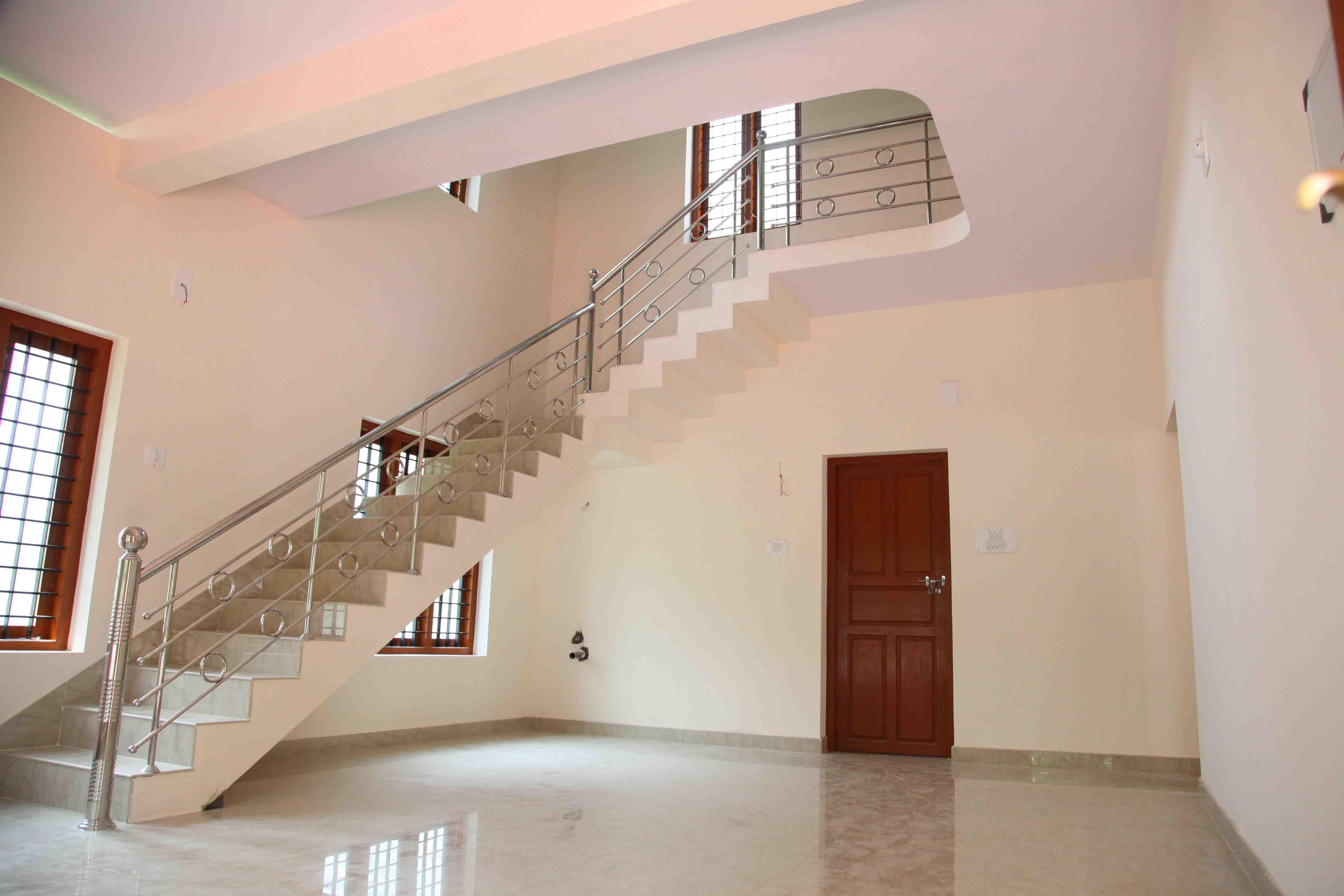 Kidangoor villa type i staircase